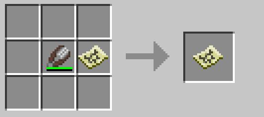 Minecraft 15w34a: Масштабировани карты (рецепт)