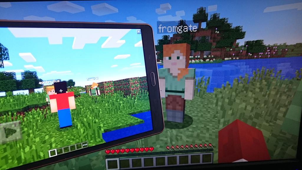 Dragonet: сервер Майнкрафт, позволяющий играть одновременно на планшете и ПК