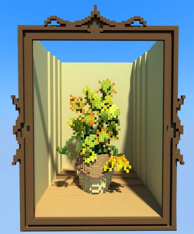 minecraft-sunflowers