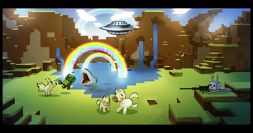 Иллюстрация к новости о выходе Minecraft 2. Источник: Mojang