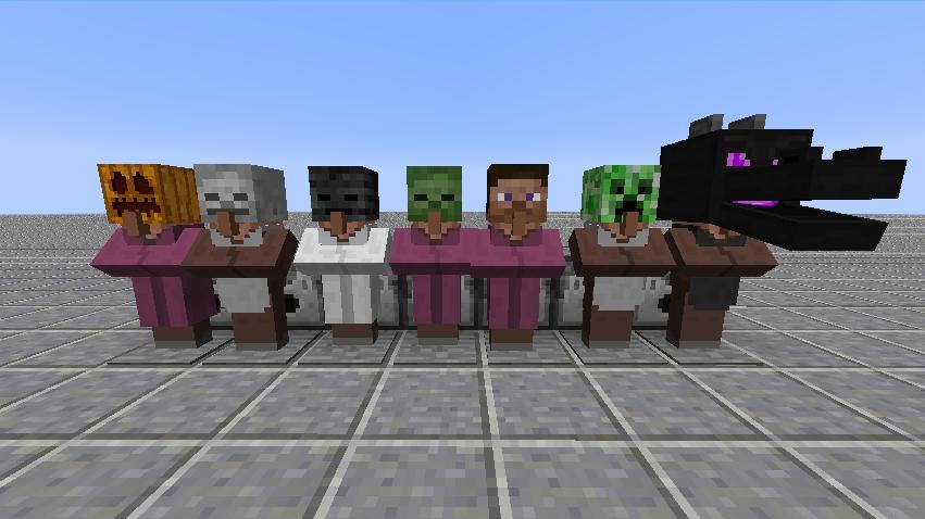 villager-hats