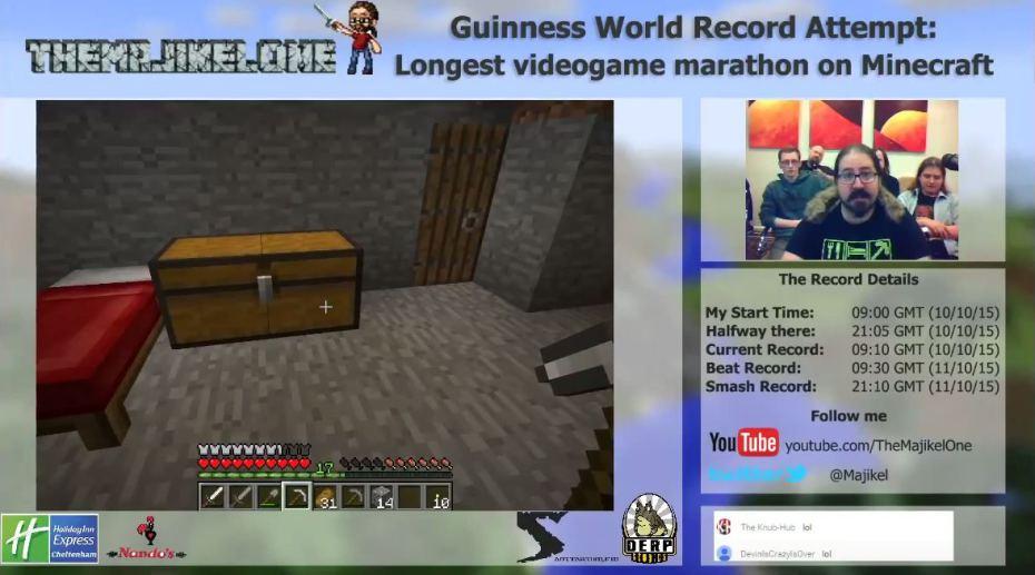 Minecraft-marathon