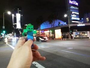 Кинотетр, в котором играли в Minecraft: Story mode